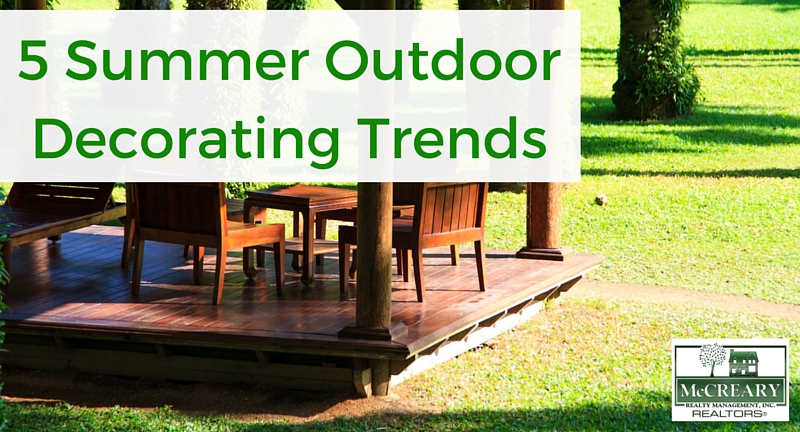 5 summer outdoor decorating trends - Fall decor trends five tips to spruce up your homes ...