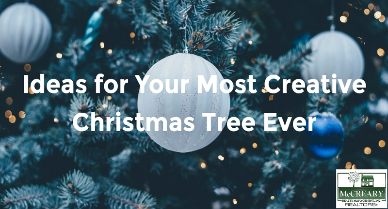Ideas For Your Most Creative Christmas Tree Ever